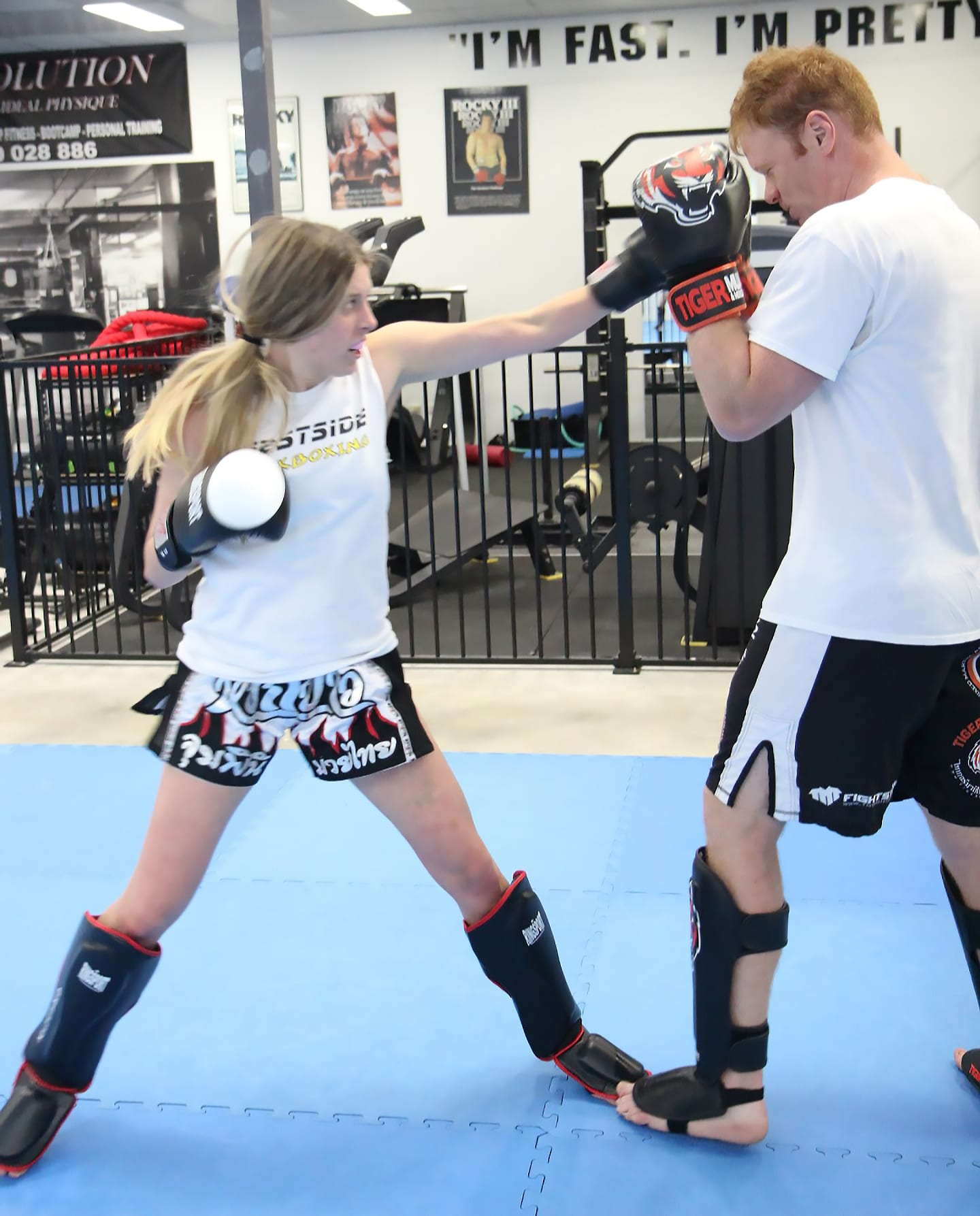 Lucy De Dulin in O'Connor - Westside Kickboxing