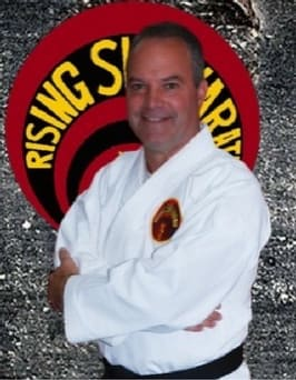 Sempai Mitch Little in Toms River - Rising Sun Karate Academy