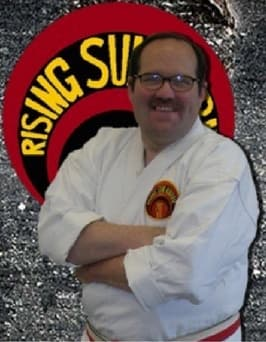 Kyoshi Downey in Toms River - Rising Sun Karate Academy