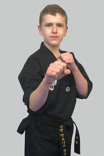Antonio Nelson in North Attleboro - Mu Han Total Martial Arts