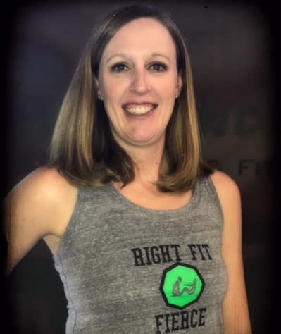 Jennifer McHugh in Shawnee - Right Fit - Fuel & Fitness