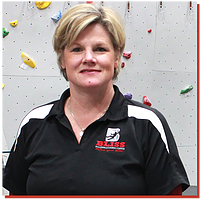 Lisa McMahon in Wichita - Bliss Bouldering And Climbing Complex
