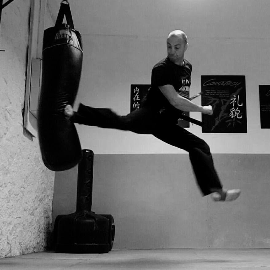 Stefan Sanson in St. Austell - Kernow Martial Arts