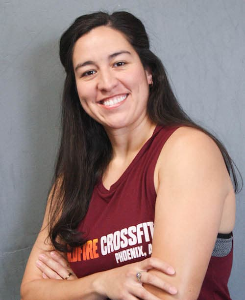 Bri Maynes in Phoenix - WildFire CrossFit