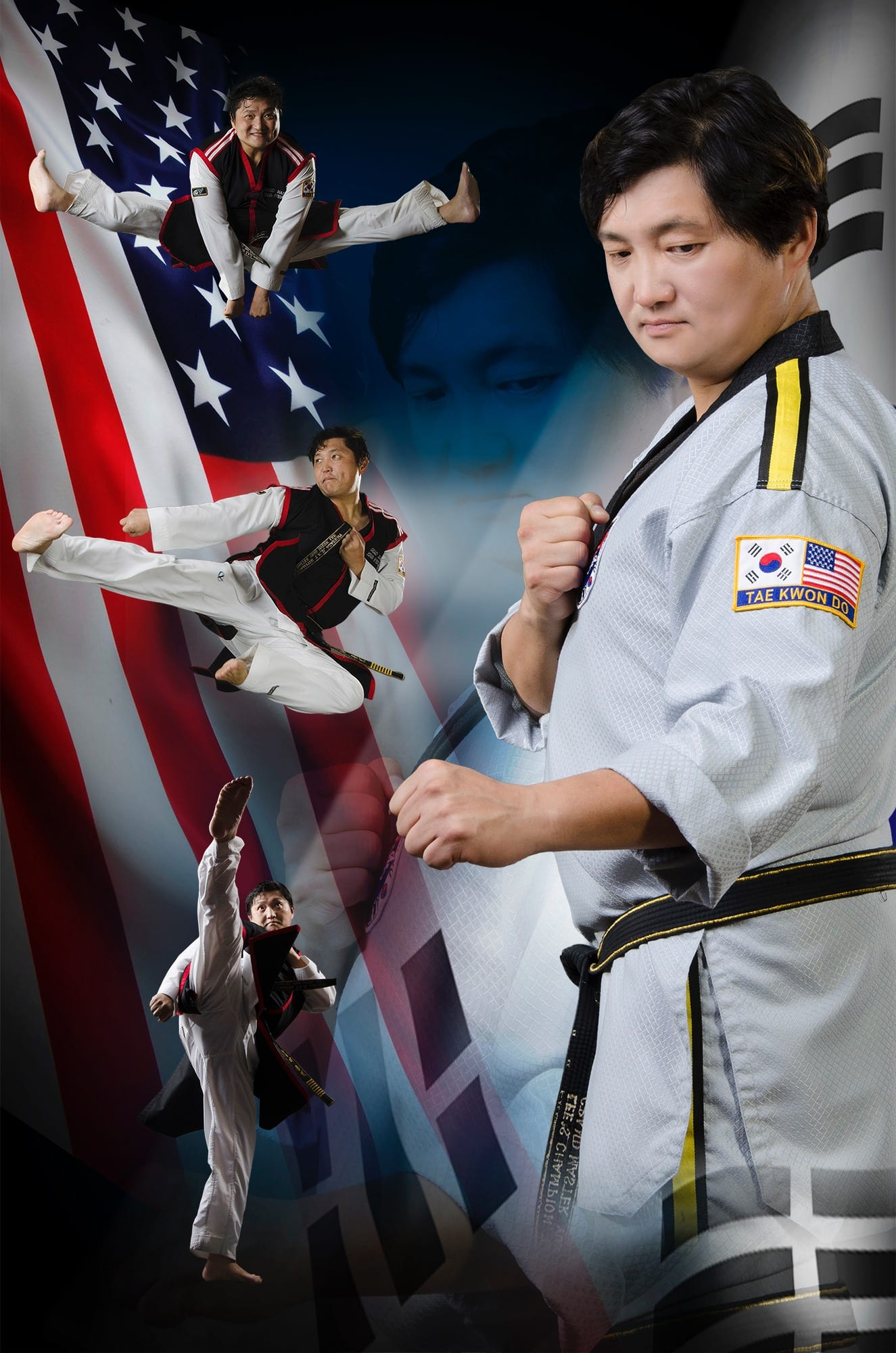 Grand Master. Yong Hyeok Lee in Lee's Champion Taekwondo Academy