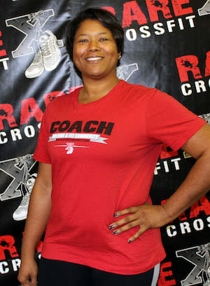 Joy Smith in Fredericksburg - RARE CrossFit