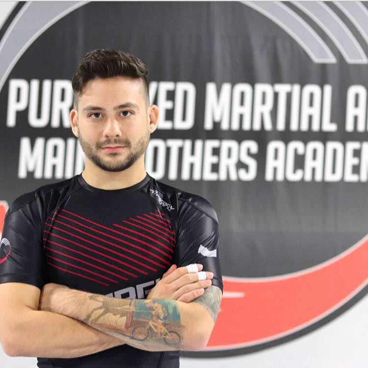 Mikey Main in Rockaway - Pure Mixed Martial Arts