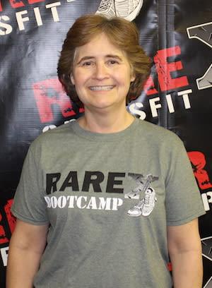 Carol Seeley in Fredericksburg - RARE CrossFit