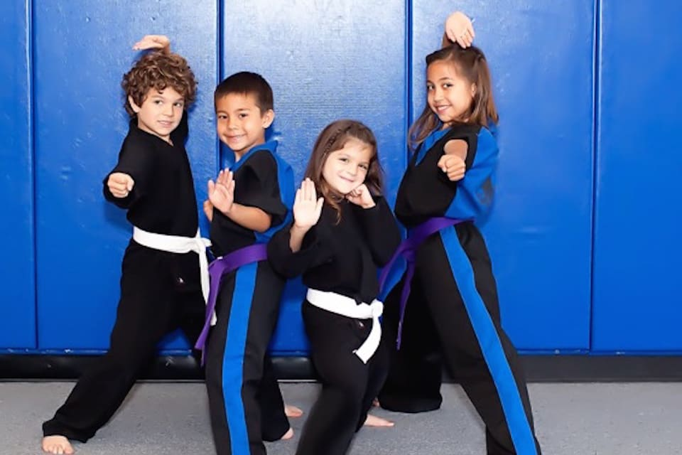 Kids Martial Arts Orange