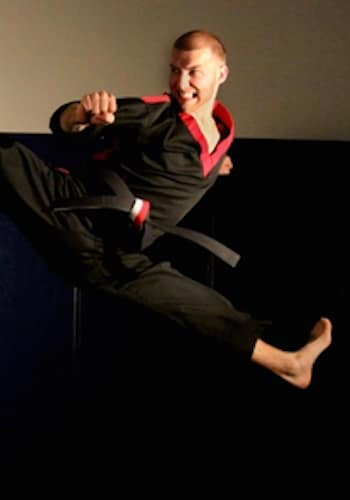 Steven Horst in Orange - World Champion Karate