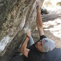 David Kortje in Wichita - Bliss Climbing and Fitness
