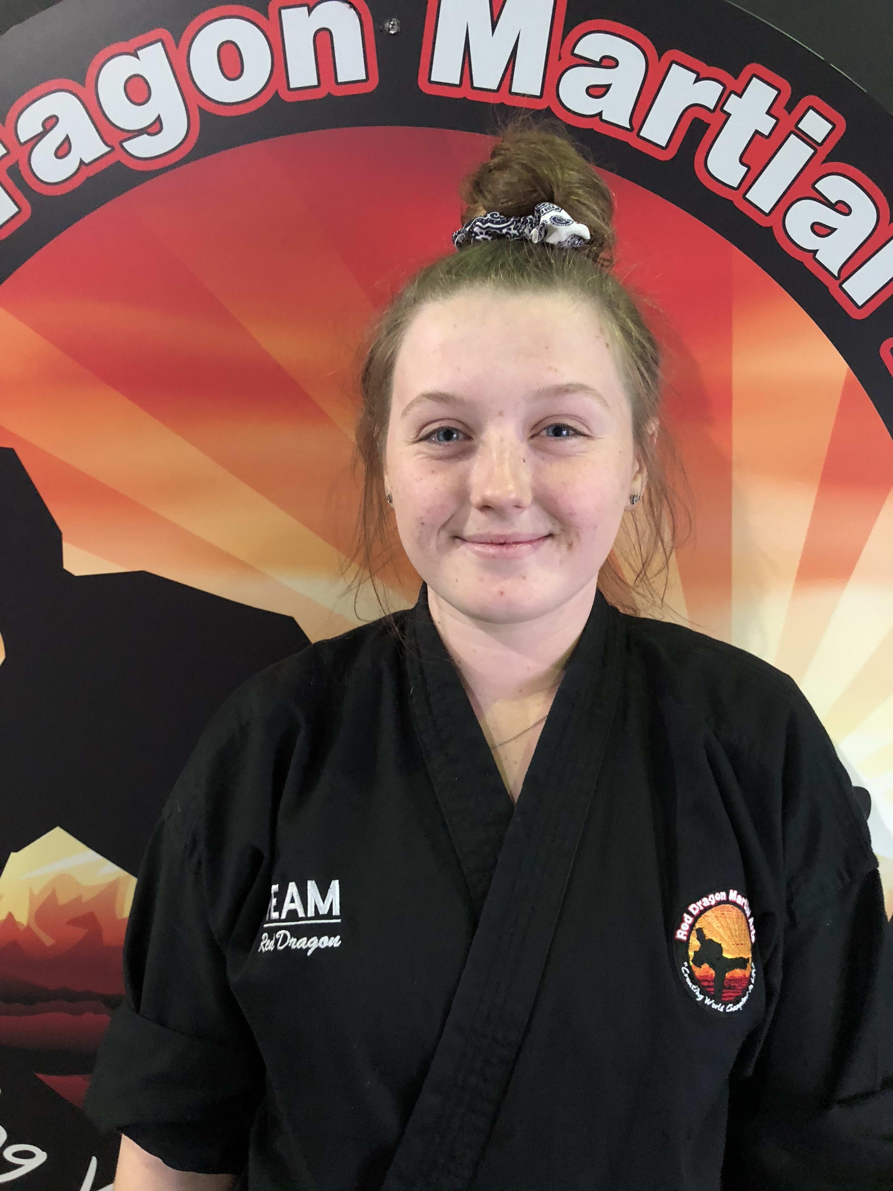 Alyssa Fenton in Caboolture - Red Dragon Martial Arts