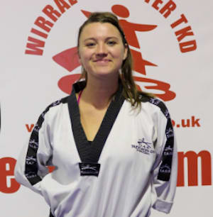 Amy Truesdale in Wirral - Wirral & Chester Taekwondo