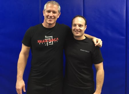 Andy in Moorabbin - Krav Maga Evolution