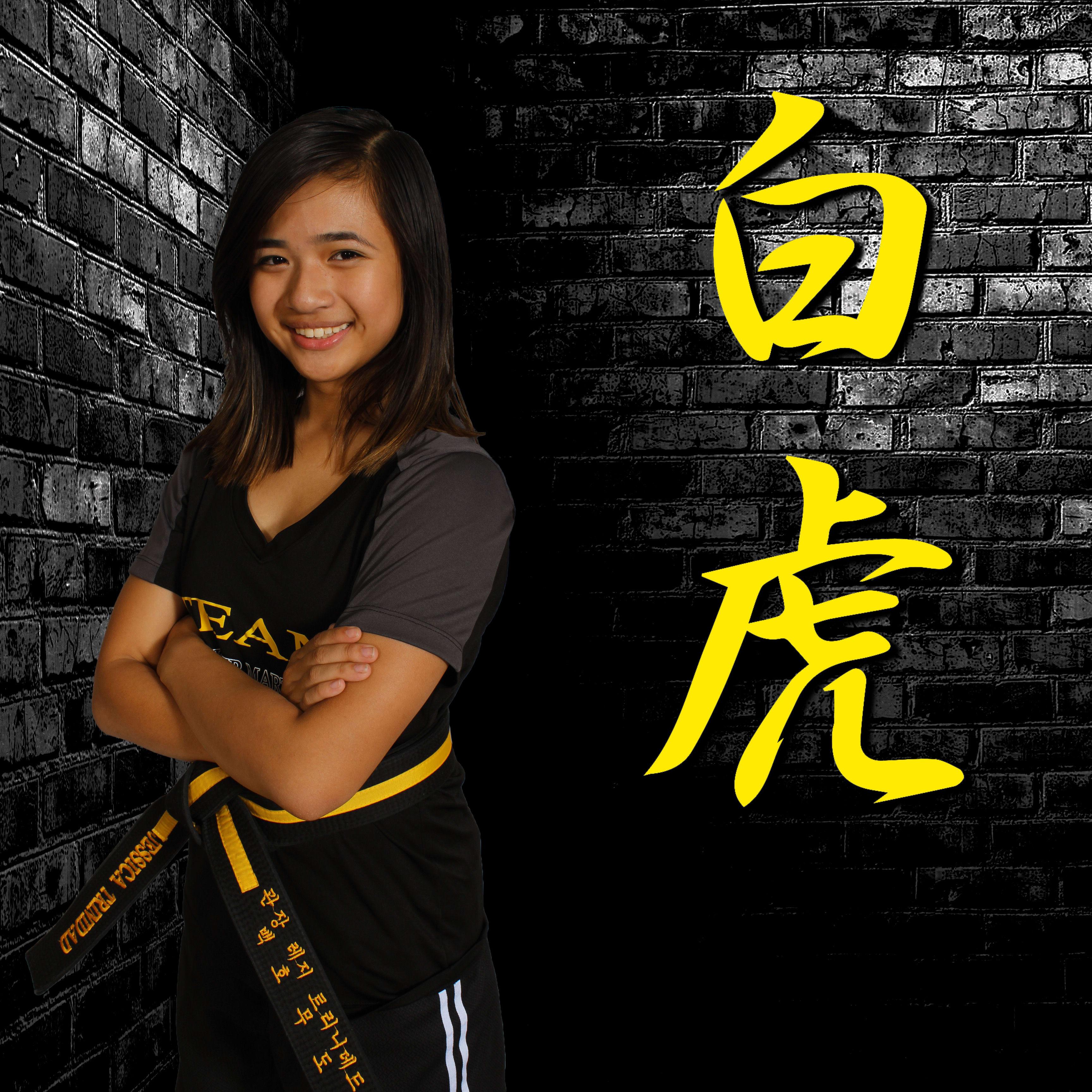 Jessica Trinidad in Wayne - White Tiger Martial Arts