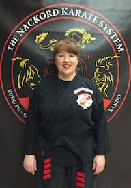 Beth Anne Van Cleve in Wayne - Nackord Karate System