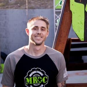 Brandon Widner in Oceanside - MROC Training