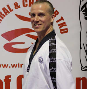 Brian Anderton in Wirral - Wirral & Chester Taekwondo