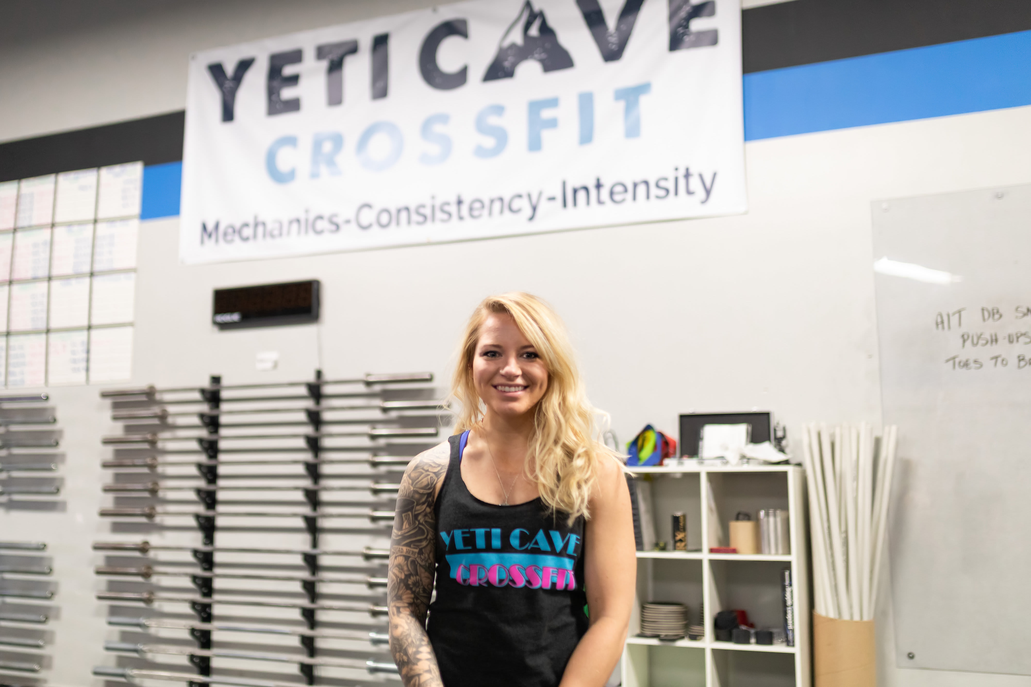 Britt Page in Fort Collins - Yeti Cave CrossFit