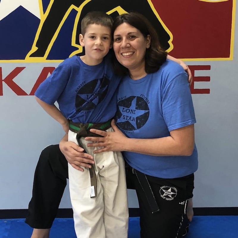 Caroline Miller in Richmond - Lone Star Karate & Self Defense