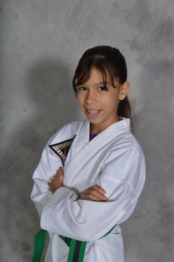 Claudia Cabanzo in Knoxville - P3 Martial Arts