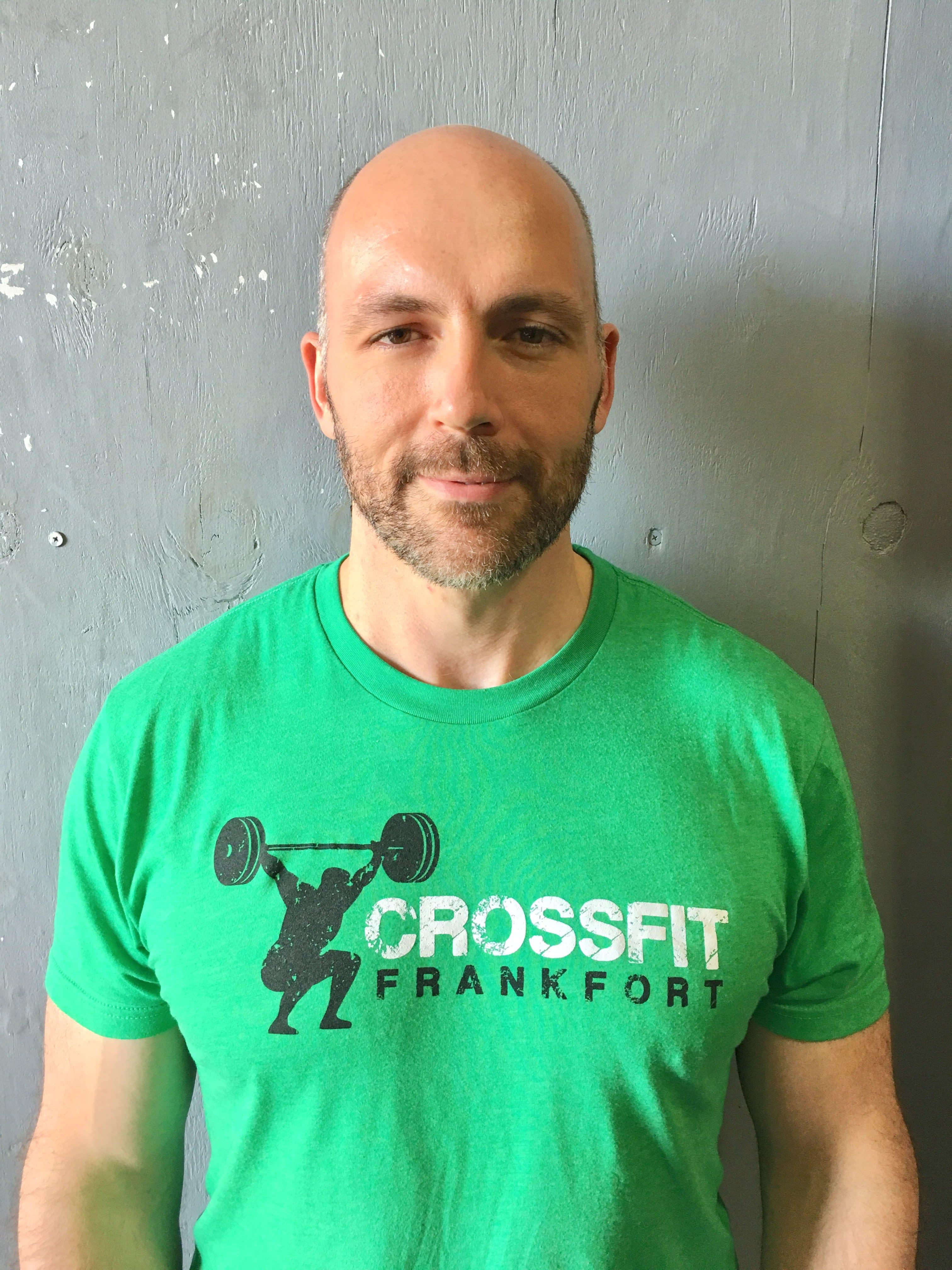 Coach Aaron in Frankfort - Crossfit Frankfort