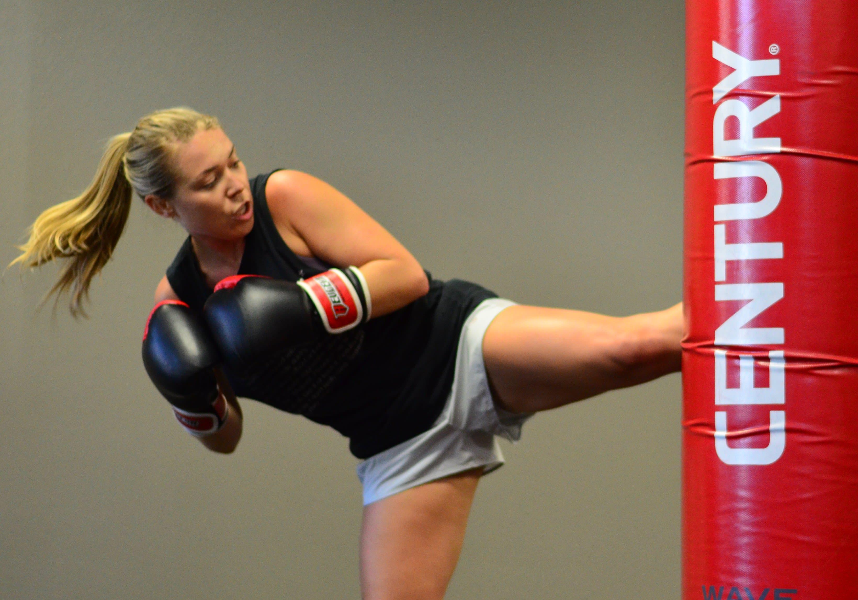 Coach Rachel in Wells Branch - Fighting Fit Boot Camp