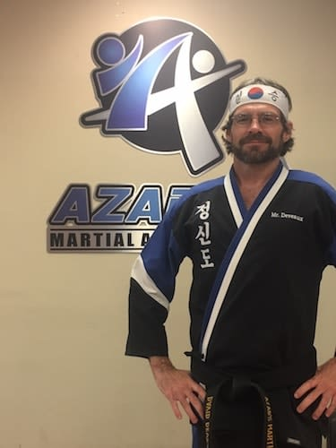 Mr. Deveaux in Chico - Azad's Martial Arts Center