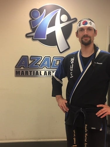 David Gantt in Chico - Azad's Martial Arts Center