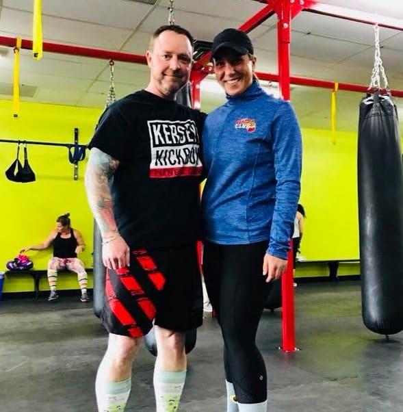 Darren Souilliere  in Windsor - Kersey Kickbox Fitness Club