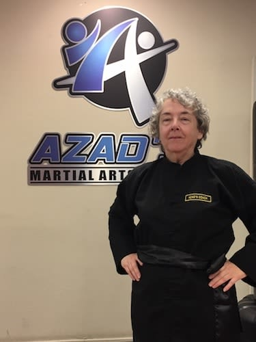 Ms. Ohliger in Chico - Azad's Martial Arts Center