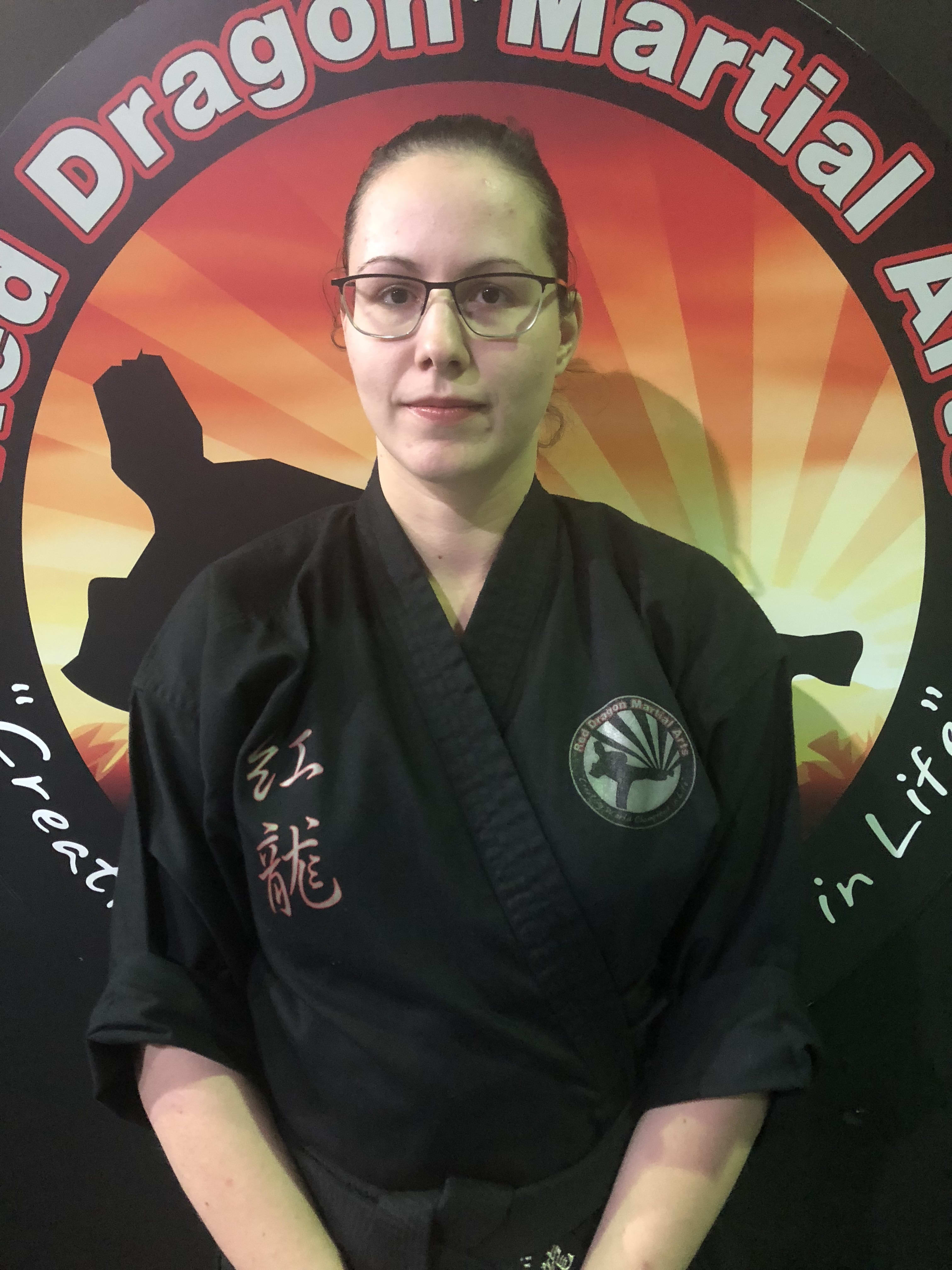 Eleonora De Felice in Caboolture - Red Dragon Martial Arts