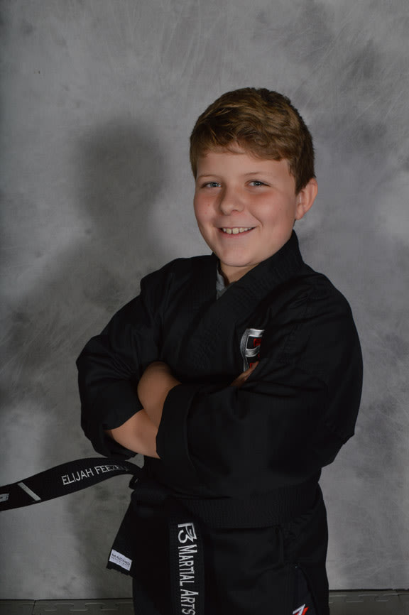Elijah Feezell in Knoxville - P3 Martial Arts