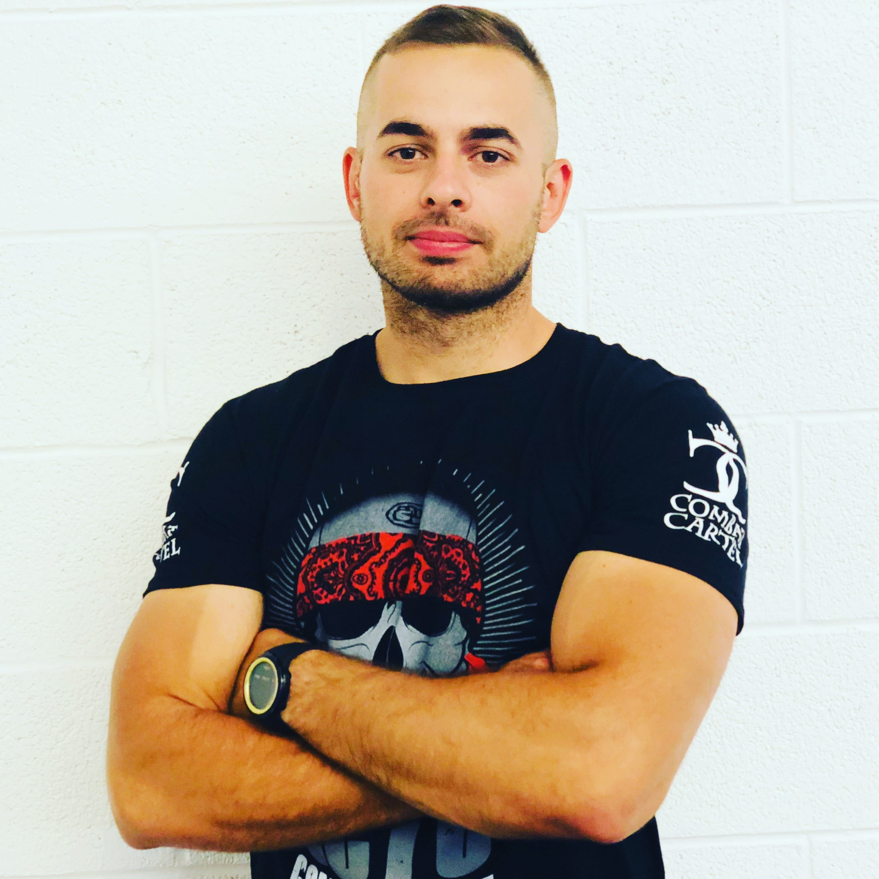 Emanuel Balmus in Salt Lake City - Ultimate Combat Training Center
