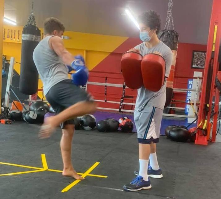 Boxing  near Neptune
