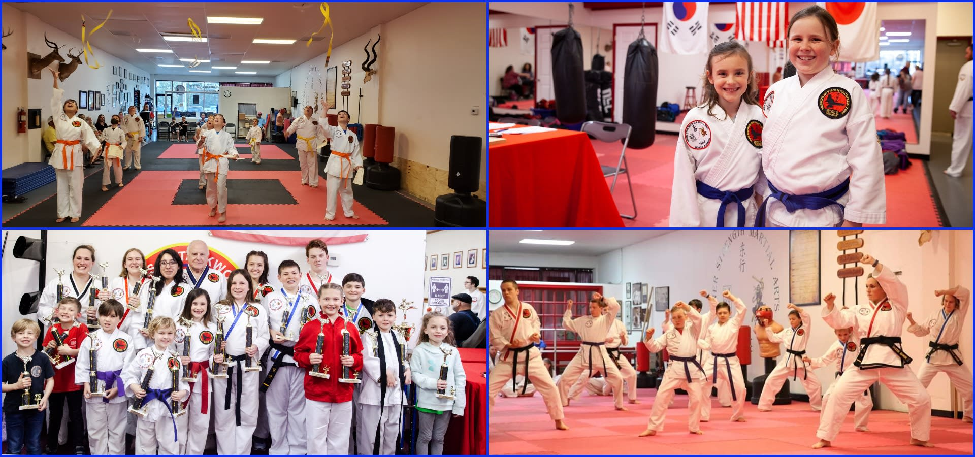 <style> h1 {   text-shadow: 2px 2px 8px #1e2a55; } </style>Expert Taekwondo Instruction in Mobile