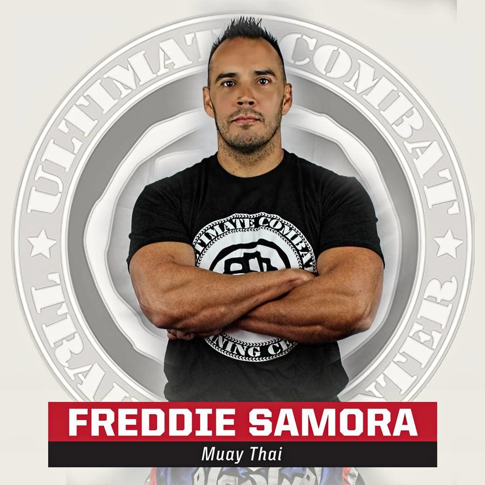Freddie Samora in Salt Lake City - Ultimate Combat Training Center