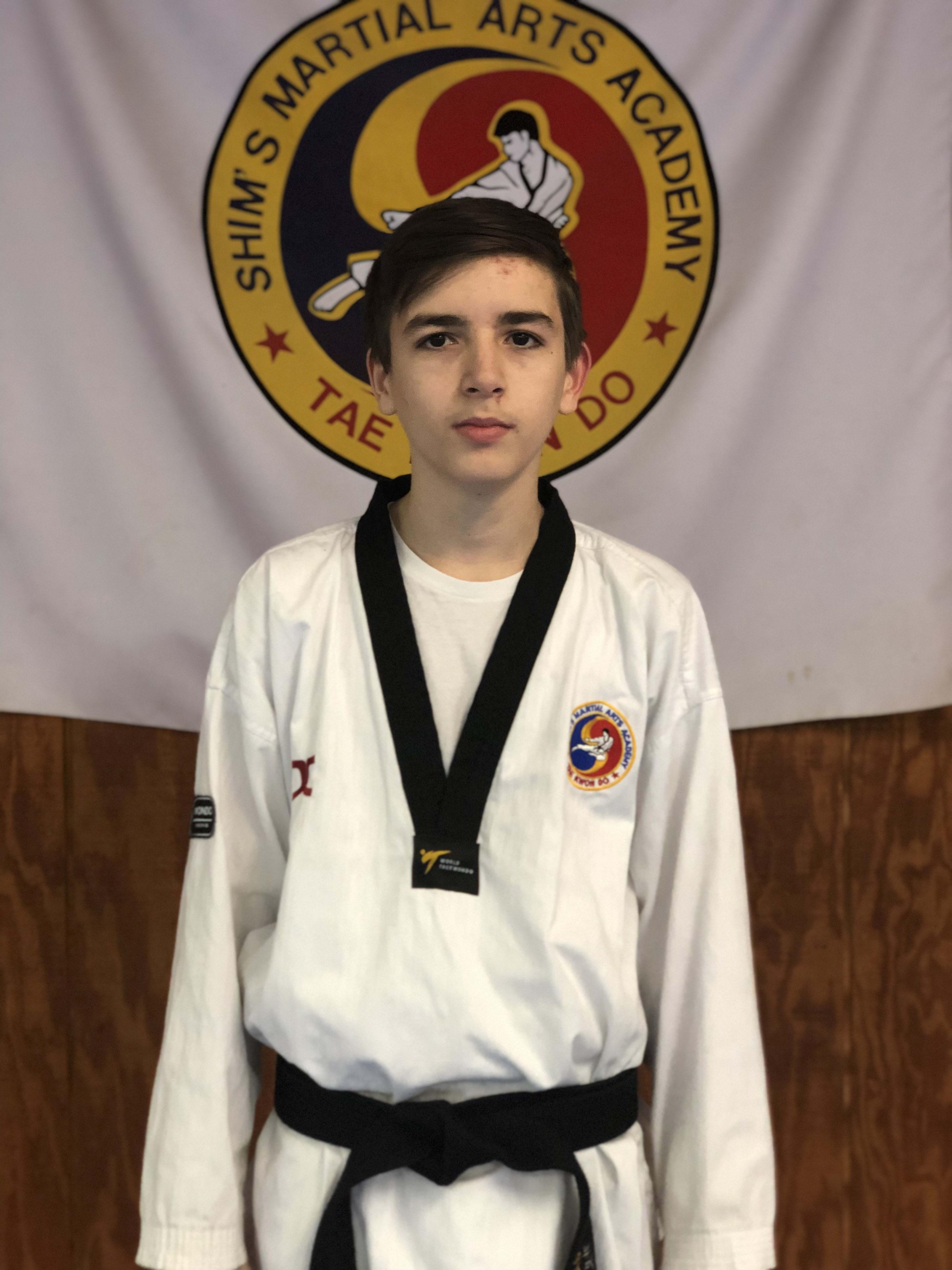 Gabriel Castano in Elizabeth - Shim's Martial Arts Academy