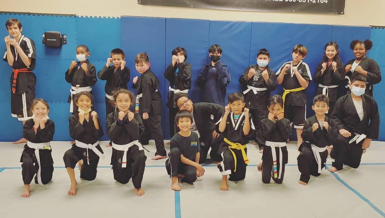 Grand Prairie's Home for Family Friendly Taekwondo Kickboxing Training!