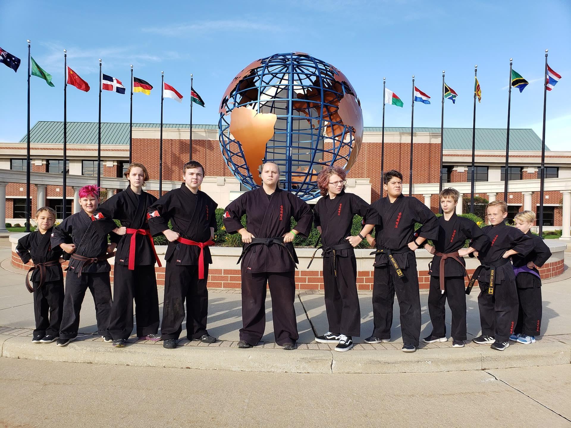 Discipline. Respect. Commitment.<p><strong>Polaris Martial Arts</strong></p>
