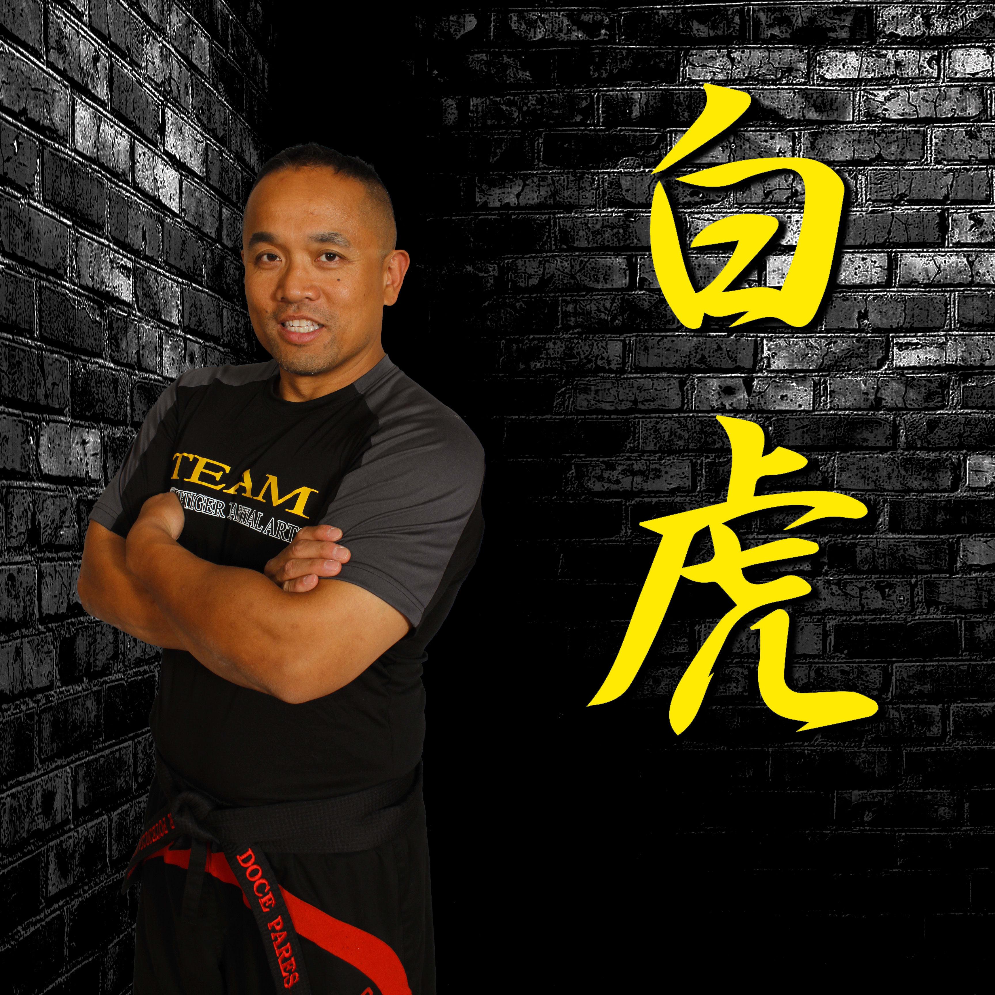Guro Pete Potenciano in Wayne - White Tiger Martial Arts