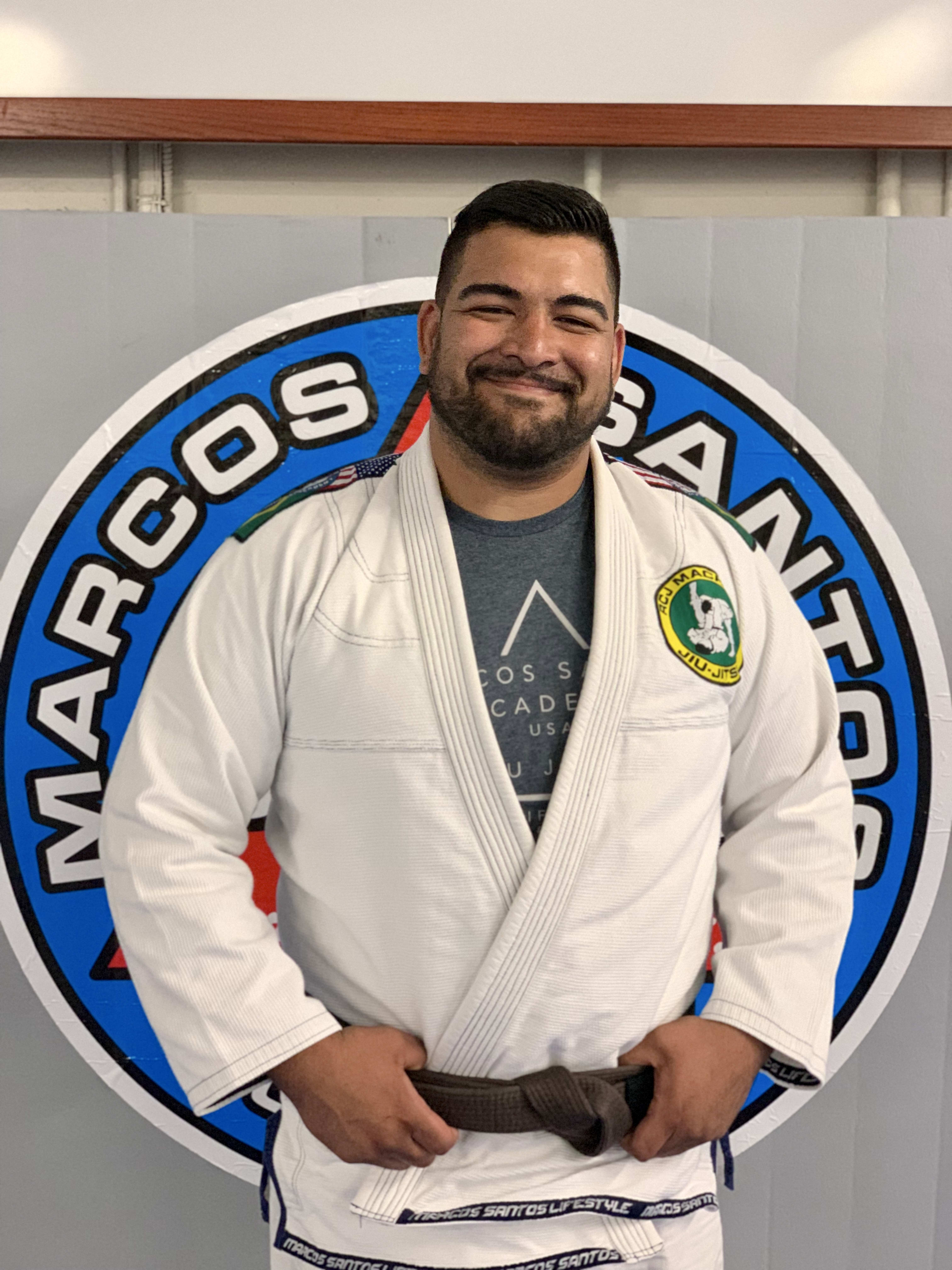 Hugo Muñoz in Fort Worth - Marcos Santos Academy