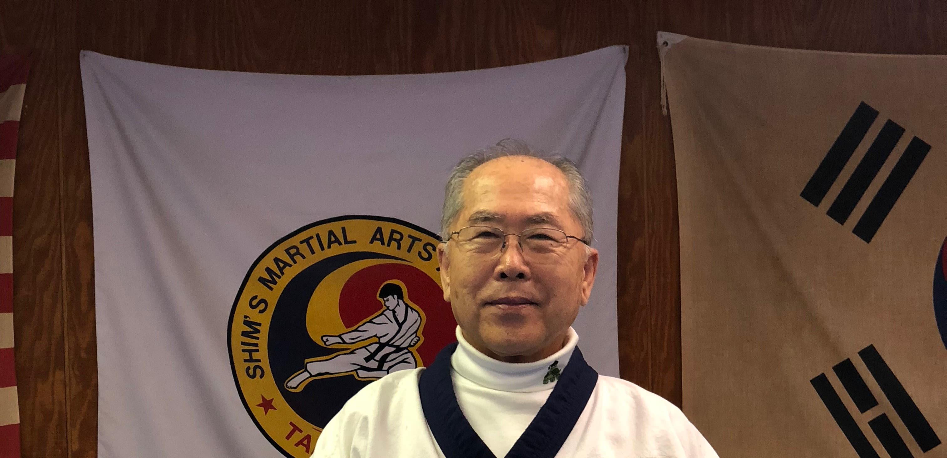 Hyok Kun Shim in Elizabeth - Shim's Martial Arts Academy