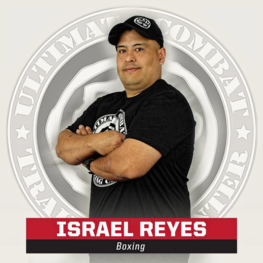 Israel Reyes in Salt Lake City - Ultimate Combat Training Center