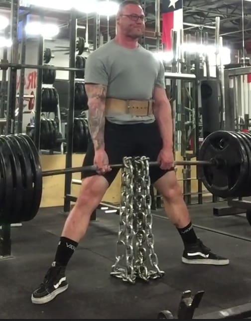 Jacob Civile in Far North Dallas - Extreme Iron Pro Gym