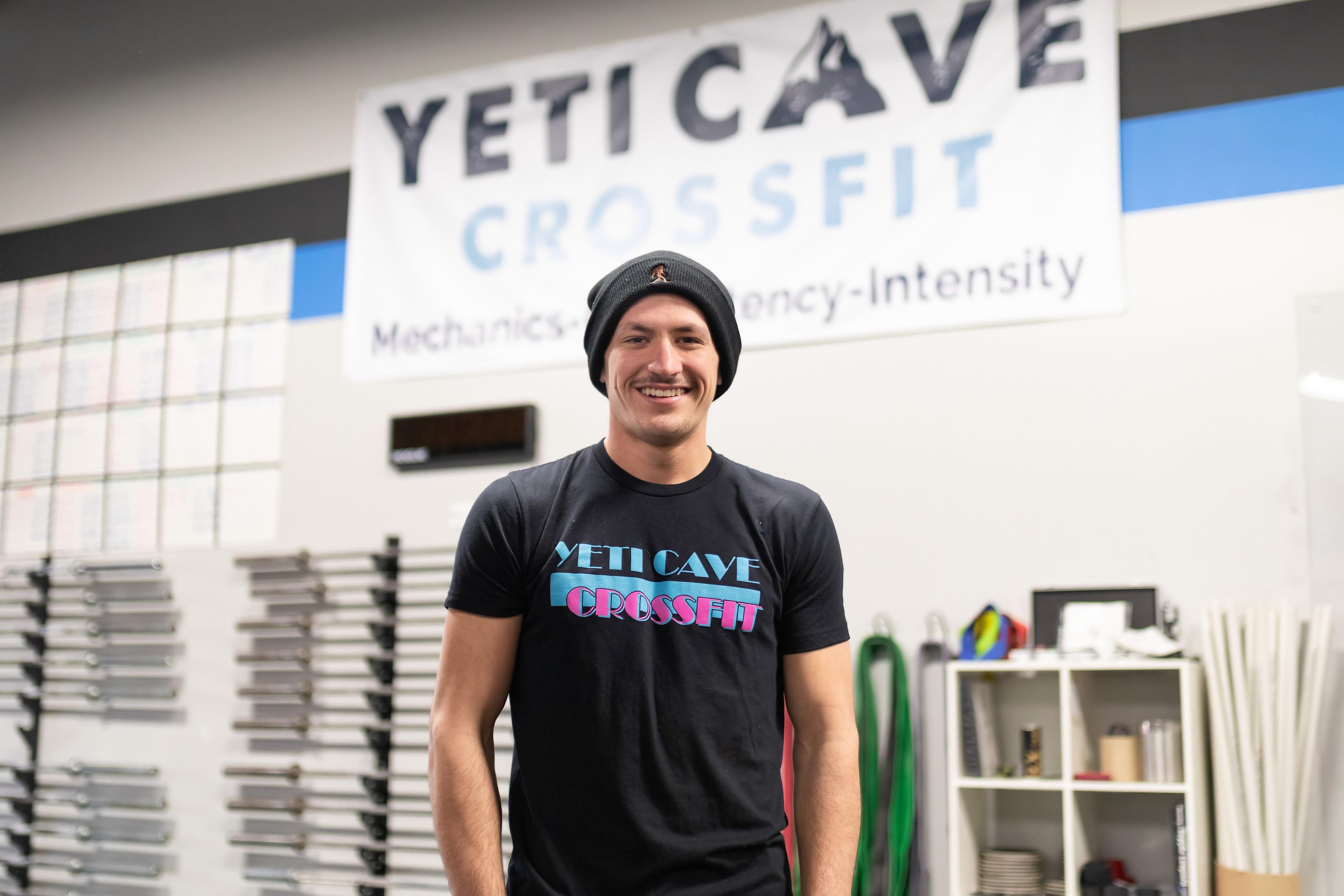 Jarrod Seitz in Fort Collins - Yeti Cave CrossFit