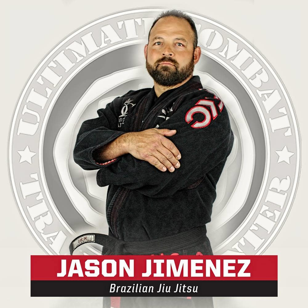 Jason Jimenez in Salt Lake City - Ultimate Combat Training Center