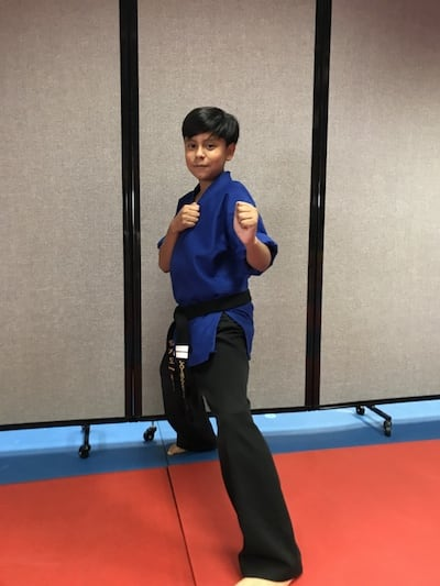 Junior Sensei Javier Garcia-Lopez in Clearwater - TOP Martial Arts