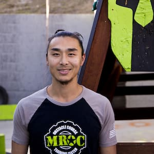 Jeffrey Tai in Oceanside - MROC Training