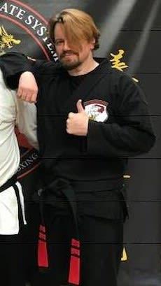 John VanCleve in Wayne - Nackord Karate System